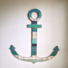 Large Rustic Wood Anchor - Beach House Decor Wall Hanging  on Etsy, $150.00