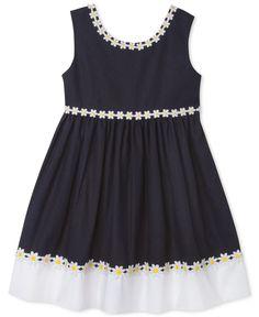 Blueberi Boulevard Little Girls' Daisy Dress - Dresses - Kids & Baby - Macy's