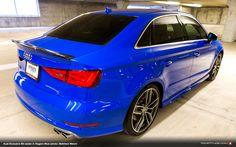 Audi Exclusive S3 Sedan in Nogaro Blue (photo: Matthew Welch)