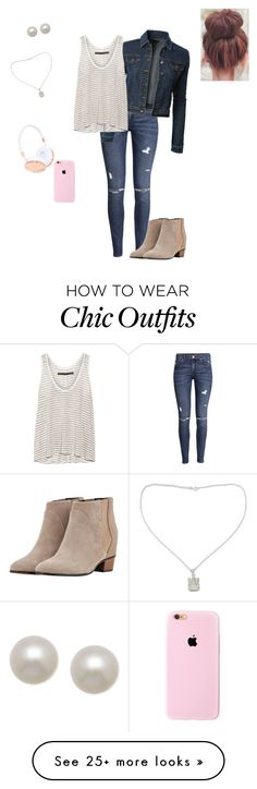 """I'm looking casual but I'm still cute"" by cutefashionideas on Polyvore featuring H&M, LE3NO, Enza Costa, Augusta, NOVICA, Honora and Frends"