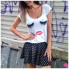 Daqueles looks que fazem a gente morrer de amor! #Vemprazas