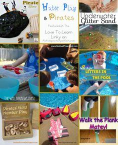 Water Play & Pirate Activities