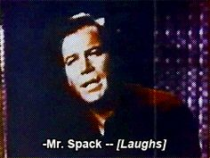mygif bones gifset star trek Silly spock leonard nimoy deforest kelley william shatner Kirk star trek: tos tosblooper