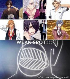 Attack on Titan, Uta no prince sama, Brothers Conflict, Amnesia, and other anime