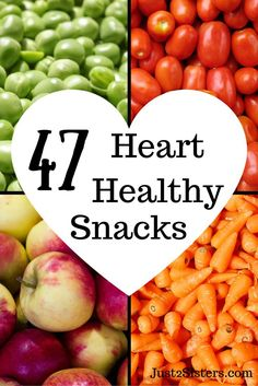 47 Heart-Healthy Snack Ideas Looking for ways to live a healthier lifestyle? Print our list of 47 heart-healthy snack ideas to keep you on the right track. Heart Healthy Snacks, Diabetic Snacks, Healthy Snacks For Diabetics, Healthy Drinks, Healthy Tips, How To Stay Healthy, Health Snacks, Diet Snacks, Nutrition Drinks