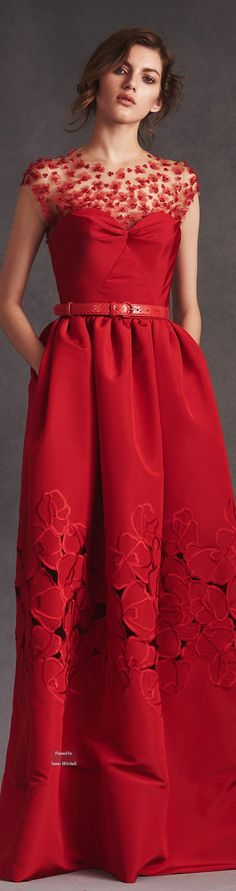 Oscar de la Renta Pre Spring 2016 collection