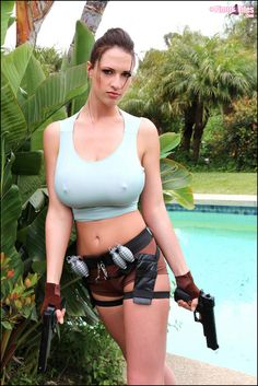 Lana Kendrick as Lara Croft