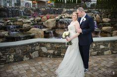 Photo Credit: Chris Carter Photography #Waterfalls #Bride #Groom