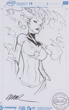 """Drawing Comics Embedded image More - """" Sunday at the show and the early fans definitely got some nice sketches"""" Comic Book Artists, Comic Artist, Comic Books Art, Marvel Comics Art, Ms Marvel, Captain Marvel, Comic Frame, Fantasy Comics, Comics Girls"""