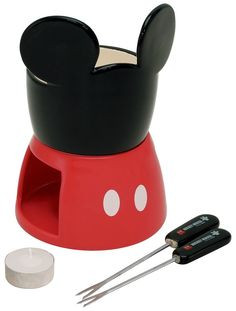 MICKEY MOUSE chocolate fondue set HONJ1