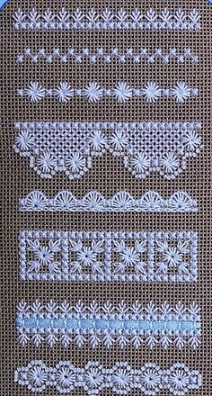 Beautiful embroidery on evenly woven linen - . Beautiful embroidery on evenly woven linen – # smoothly Hardanger Embroidery, Learn Embroidery, Hand Embroidery Stitches, Hand Embroidery Designs, Embroidery Techniques, Ribbon Embroidery, Cross Stitch Embroidery, Embroidery Patterns, Butterfly Embroidery