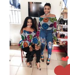 Super Hot Ankara Tops You Need To Rock - Ankara collections brings the latest high street fashion online African Men Fashion, Africa Fashion, African Fashion Dresses, African Outfits, African Print Dresses, African Dress, African Prints, African Tops, African Style