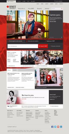 30 University and College Websites Inspiration | Web Design ...
