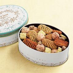 手土産に お酒のおつまみに甘くないクッキー/フールセック・サレ缶 - アトリエうかいオンラインショップ