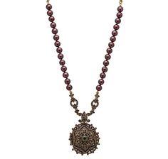 Heidi Daus Unforgettable Lavaliere Locket Necklace