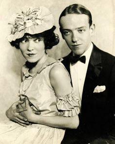 Adele Astaire & Fred Astaire, 1922.....Brother and sister dance team.
