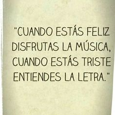 A Disfrutar la música
