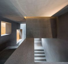 Suzhou Chapel by Neri&Hu   Neri&Hu's Suzhou Chapel combines textured brick base with ethereal white cube   concrete, terazzo stairwell, opening, natural lighting