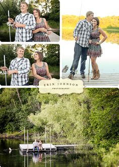 fishing engagement pictures - Google Search