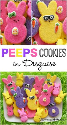 Decorated Peeps Cookies...in Disguise