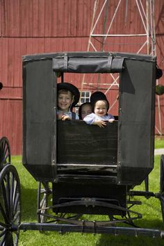 Yoder's Amish Farm in Millersburg, Ohio. (2 hours from Cleveland.) $12 with tour and buggy ride. Also have bakery there.