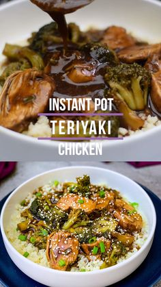 Easy Instant Pot Teriyaki Chicken is a quick, simple, Asian pressure cooker recipe that uses either chicken breasts or thighs, soy sauce, and homemade teriyaki sauce. You can use store bought bottled Asian Pressure Cooker Recipes, Instant Pot Pressure Cooker, Slow Cooker Recipes, Crockpot Recipes, Chicken Recipes, Healthy Recipes, Multi Cooker Recipes, Instant Cooker, Crockpot Meat