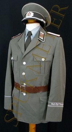 Mis uniformes de la DDR