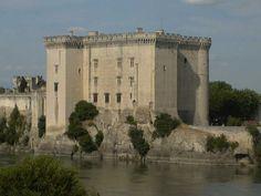 Tarascon Castle on the Rhône, France