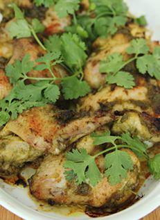 ปีกไก่แกงเขียวหวาน  Green Curry Wings