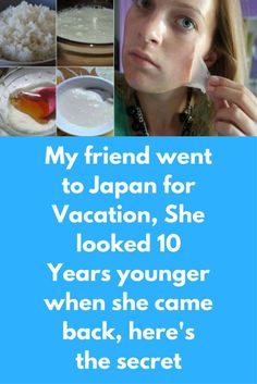 My friend went to Japan for Vacation, She looked 10 Years younger when she came back, here's the secret We all know about rice, It is one of the secret ingredient that japanese women are using since last many years to look younger for long period of time. And today we will tell you their techniques to use rice for for facial skin Put some cool water to heat. Add 2-3 tablespoons of organic …