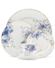 Lenox Dinnerware, Garden Grove Collection - Fine China - Dining & Entertaining - Macy's