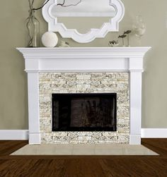 fireplace design for model