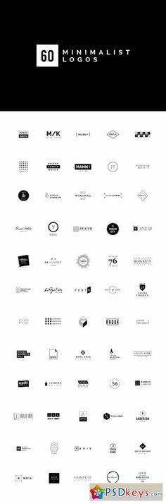 60 Minimalist Logos 282573