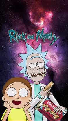 Image for Rick And Morty iPhone Wallpaper Alr6