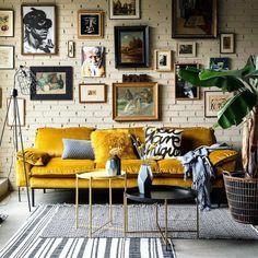 "149 Likes, 3 Comments - Hannah • Vintage Furniture (@amoreauthenticlife) on Instagram: ""Mustard vibes ✌via @moniekvisserstyling ---------------------------------------------- #vintage…"""