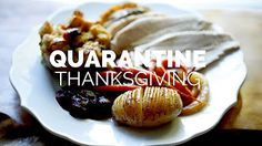 (91) QUARANTINE THANKSGIVING MENU - YouTube Turkey Recipes, My Recipes, Holiday Recipes, Dessert Recipes, Thanksgiving Side Dishes, Thanksgiving Desserts, Fall Desserts, Foil Dinners, Microwave Recipes