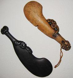 Wahaika Wood Carving Art, Wood Art, Maori Legends, Maori Tribe, Polynesian Art, Medieval Weapons, Maori Art, Aboriginal Art, Pyrography
