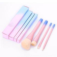 """4pcs makeup brush set """"Blushing"""""""