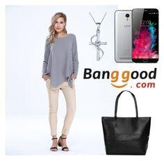 """9#Banggood"" by comicdina ❤ liked on Polyvore"