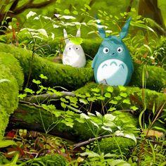 Totoro Illustrations Created by Ghibli Fans / Tokyo Pic Illustrations, Illustration Art, Manga Anime, Studio Ghibli Movies, Kawaii, My Neighbor Totoro, Hayao Miyazaki, Cute Friends, Animation Film