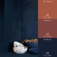 Deco Design, Cafe Design, Blue Colour Palette, Color Pop, Wall Colors, House Colors, Modern Restaurant, Restaurant Interior Design, Colour Combinations Interior