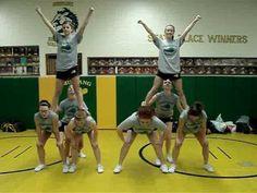 Cheer Stunt: The Lineman Lift - YouTube