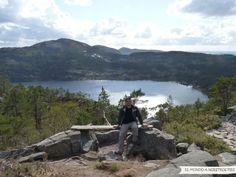 Mirada Fotográfica - Camino al Preikestolen, Noruega - El mundo a nuestros pies - Base del camino al fiordo