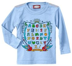 NEW City Threads ABC Rock Poster L/S Boys Tee at Diapers.com :)