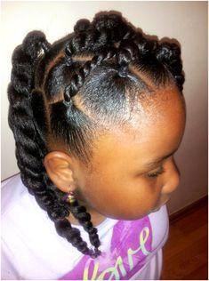 Black Kids Hairstyles, Lil Girl Hairstyles, Natural Hairstyles For Kids, Kids Braided Hairstyles, Princess Hairstyles, Hairstyles 2018, Hairdos, Wedding Hairstyles, Kid Braid Styles