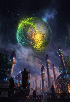 """The last battle for Argus has begun."" 🎨 by Community Artist JJcanvas Art. World of Warcraft, September 2017 World Of Warcraft Druid, Art Warcraft, Warcraft Funny, World Of Warcraft Characters, Fantasy Places, Fantasy World, World Of Warcraft Wallpaper, Ouvrages D'art, Wow Art"