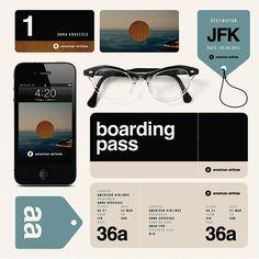 Experimental ID for American Airlines | Abduzeedo Design Inspiration & Tutorials
