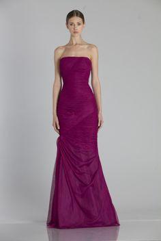 Monique Lhuillier Bridesmaids - 450115 Available at GIGI of Mequon in WI. www.gigiofmequon.com