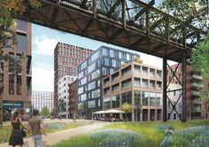 Gallery of MVRDV Wins Competition to Convert Russian Steel Factory Into Mixed-Use Neighborhood - 1