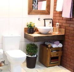 bancada madeira banheiro - Pesquisa Google